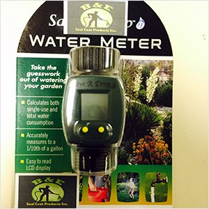 Water Meter for Sealcoating